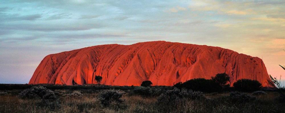 Uluru-red chocolate box rock